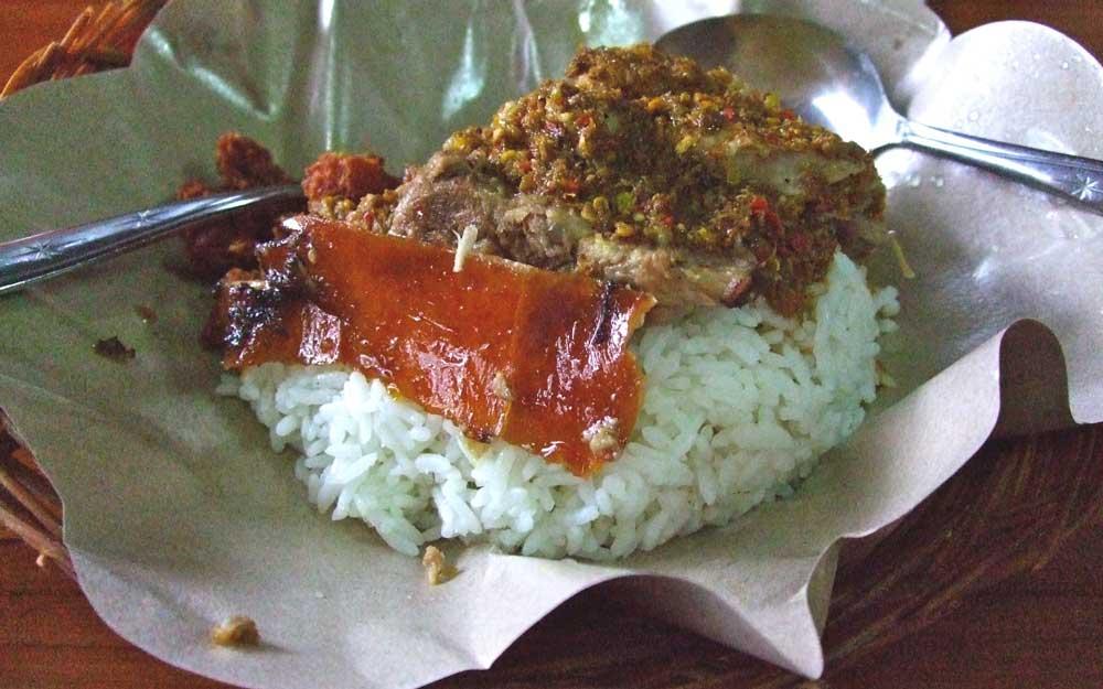 Babi Guling, comida de Bali
