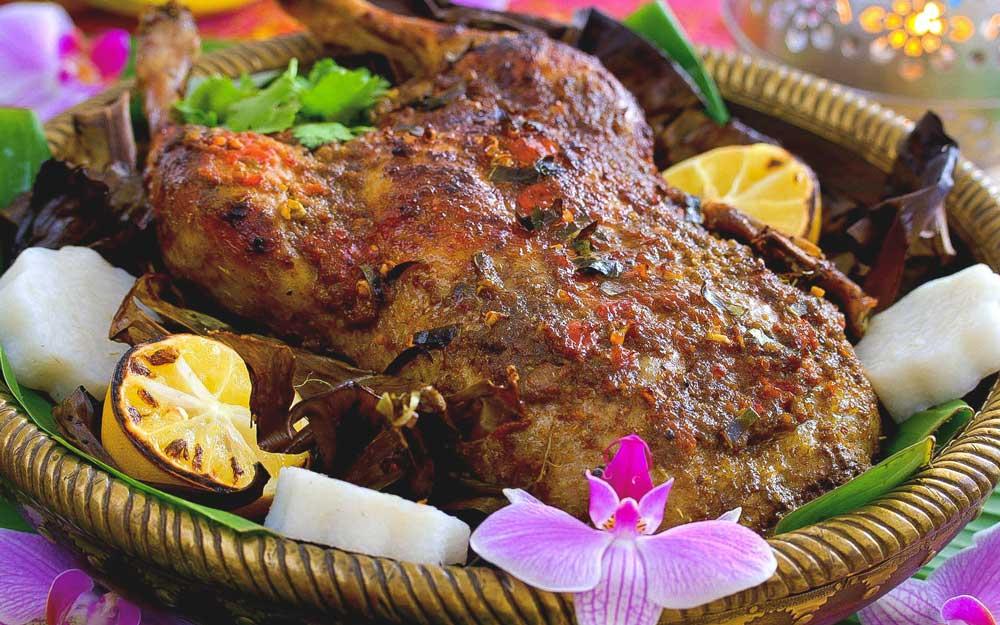 Bebek, comida de Bali