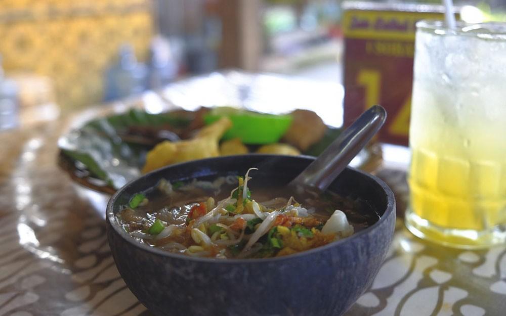 Soto Bathok, sopa comida Bali