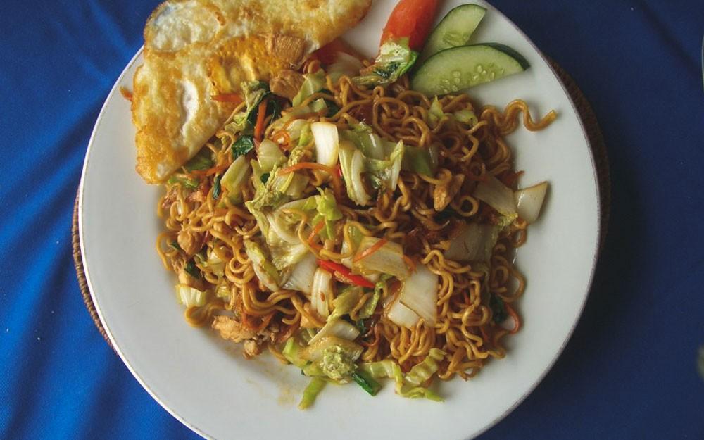 Mie Goreng, comida de Bali