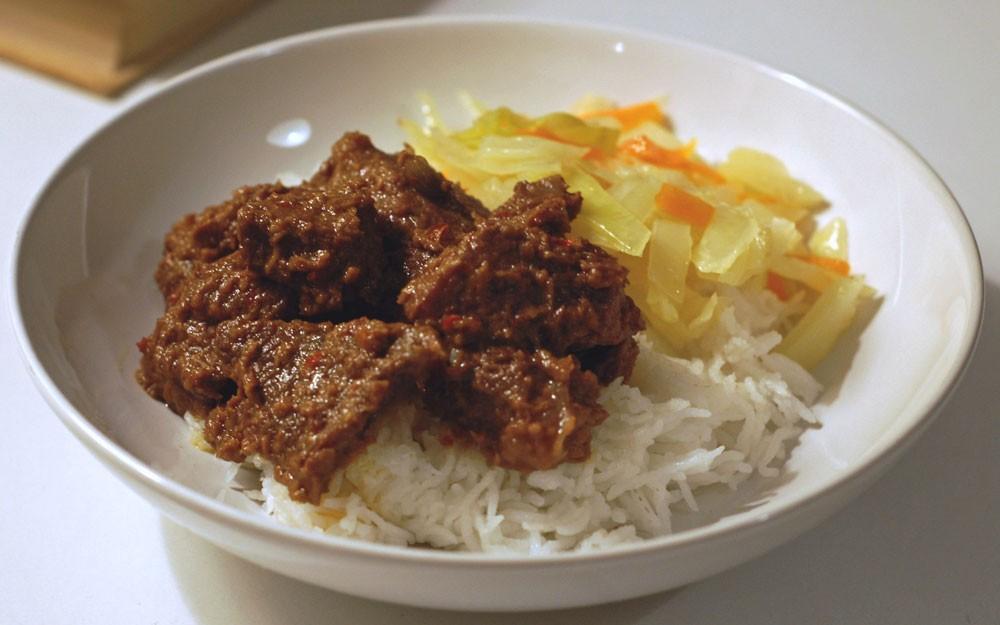 Beef Rendang, comida de Bali