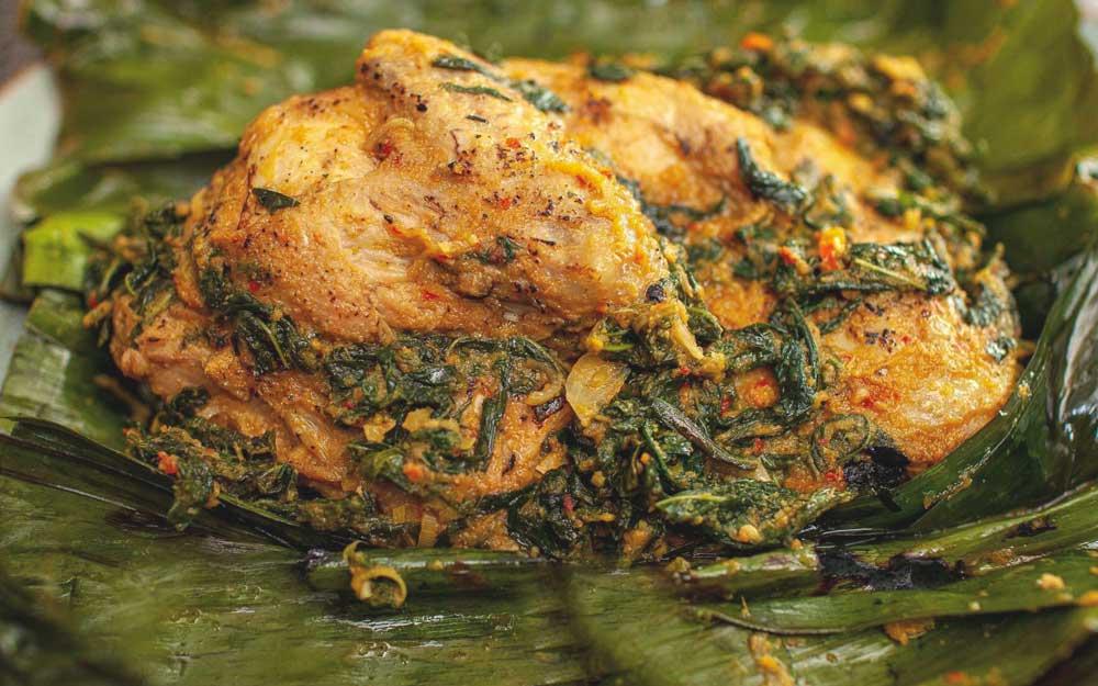 Betutu, comida de Bali