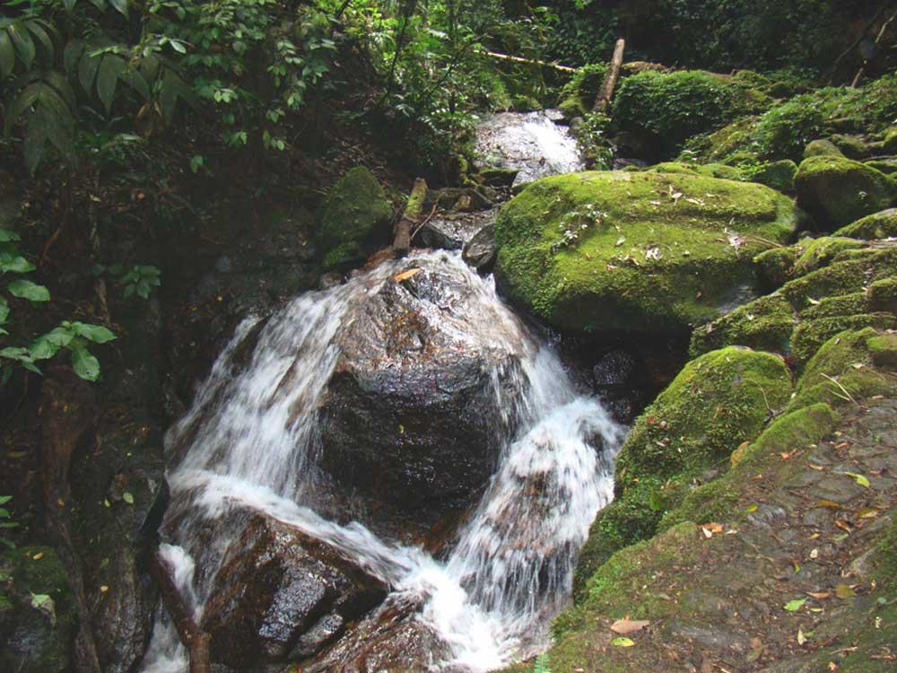 Quedas d'águas de cachoeira