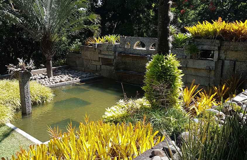 jardim de Sítio Burle Marx, uma das opções entre muito o que fazer em Barra de Guaratiba