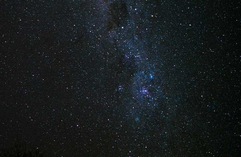céu estrelado em São Thomé das Letras