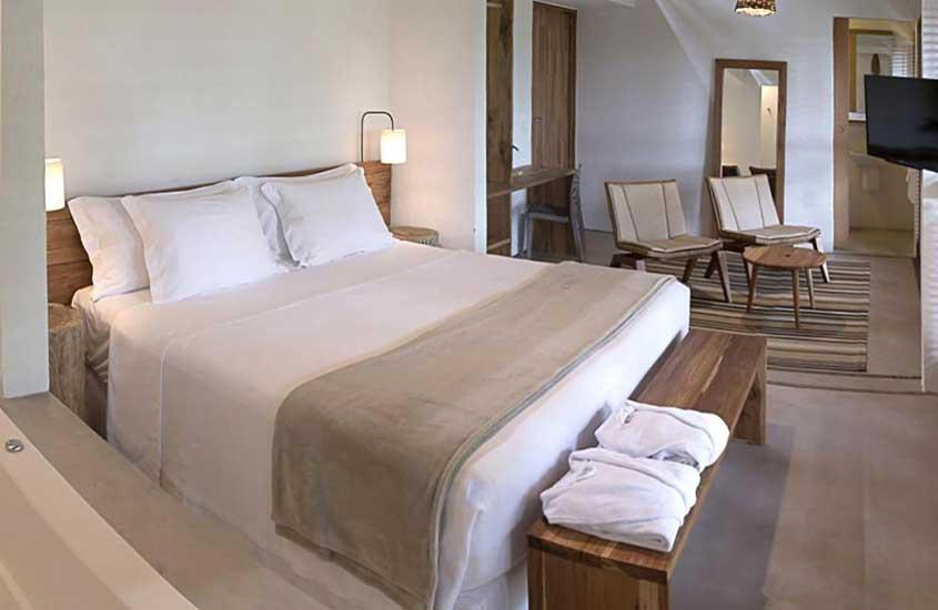 Foto cama quarto paraty