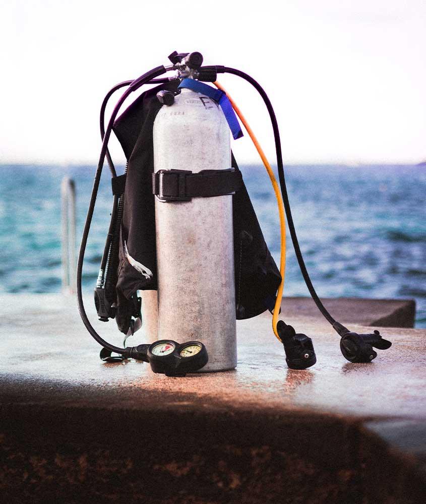 Cilindro de mergulho