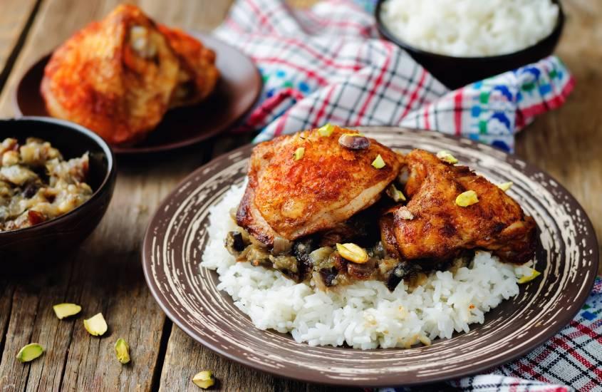 Rfissa de frango marroquino