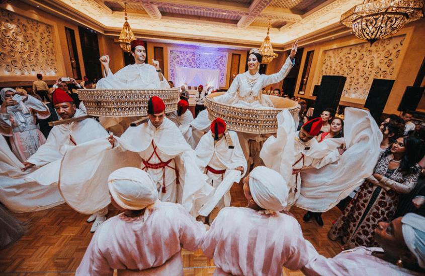 curiosidades sobre o Marrocos Casamento tradicional marroquino