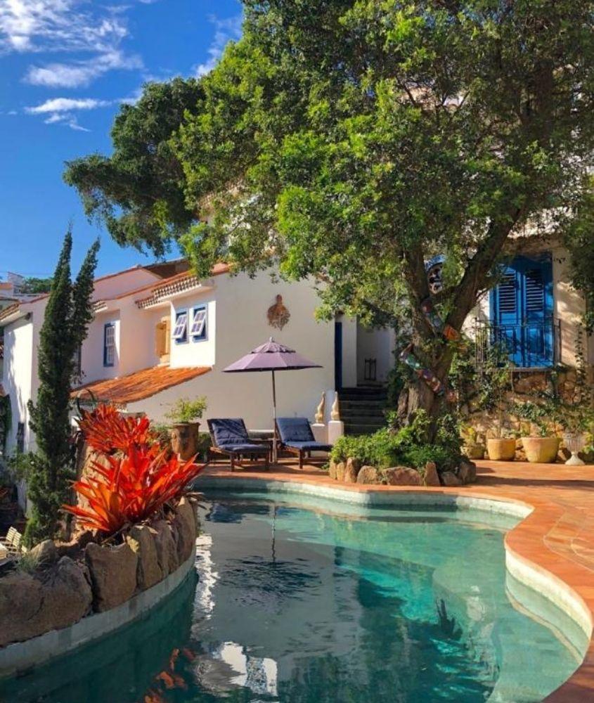 piscina em área de lazer de Vila da Santa Hotel Boutique & Spa em Buzios