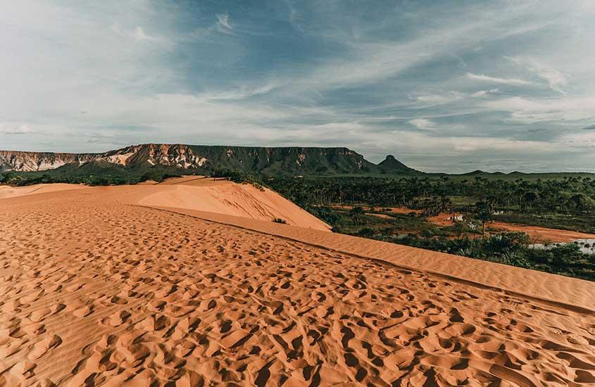 dunas de areia em Tocantins