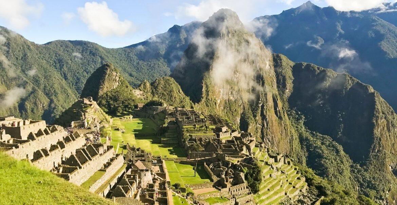Machu Pichu no Peru, América do Sul