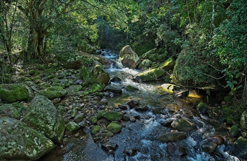 Cachoeira em Sana, uma ótima opção de atração para quem busca o que fazer em Sana RJ