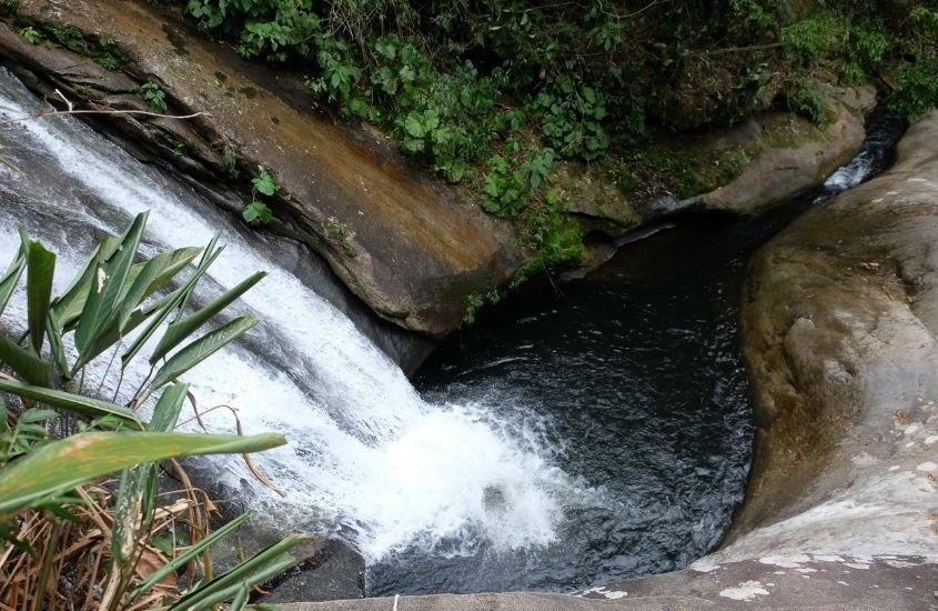 Cachoeira da Mãe, uma ótima atração para quem busca o que fazer em Sana RJ